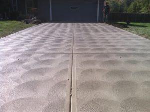 patterned concrete