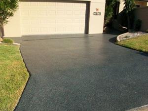 polished concrete driveways