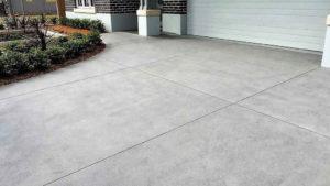 polished driveway