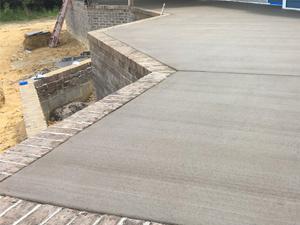 smaller concrete jobs
